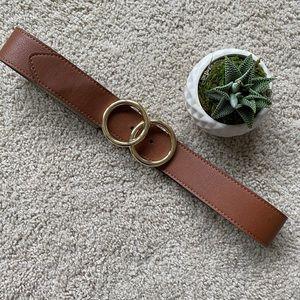Double O ring belt